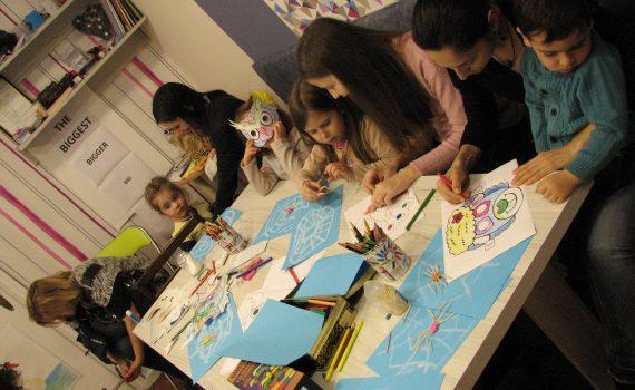 английски с рисуване